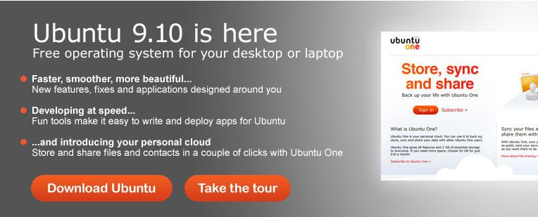Ubuntu ble nylig lagt ut for nedlasting. Ubuntu er et gratis fullverdig operativsystem. (ill. Teknologia)