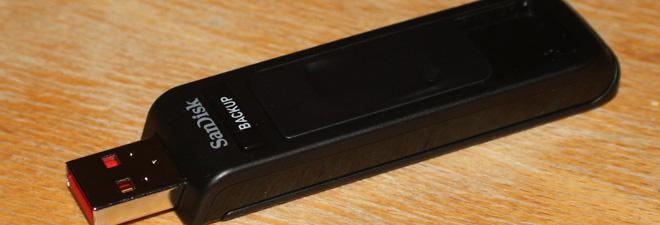 SanDisk Ultra Backup 2 kan romme opp til 64 gigabyte med data!