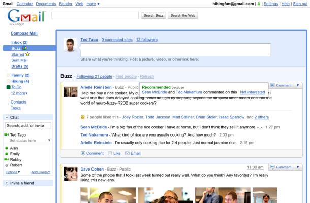 Google vil la deg samle innhold fra flerfoldige sosiale tjenester i ett og samme grensnitt. (Foto: Google)