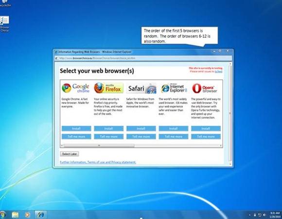 I Windows 7 vil du etter hvert få velge fritt mellom de mest populære nettleserne. Men vil tradisjonelle IE-brukere endre valg av den grunn?