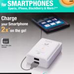 Sony med bærbar USB-strømforsyning