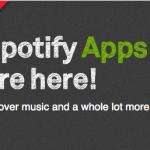 Spotify introduserer applikasjoner