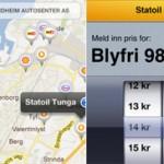 Finn billig drivstoff med ny app
