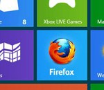 Viser fram Firefox for Windows 8 Metro