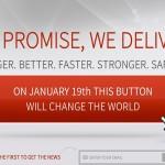 - 20. januar vil denne knappen forandre verden