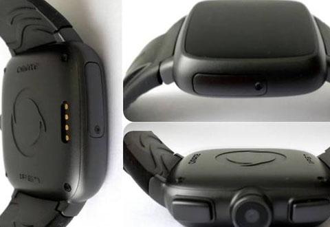 Denne smartklokka har et innebygd kamera og 3G-tilkobling.