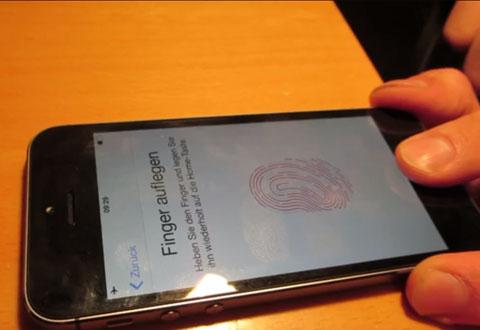 Her hacker de Apples fingertrykkavleser