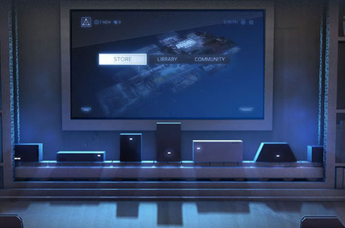 Slik tenker Valve seg at Steam Machines kan se ut. Foto: Valve / Steam