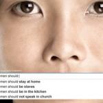 «Kvinner burde være på kjøkkenet»