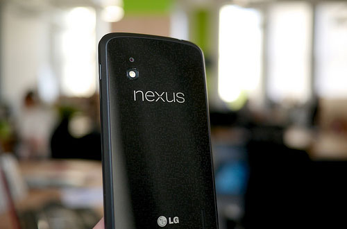 LG vil snart komme med Nexus 5, og nå er flere detaljer lekket. For odens skyld, på bildet ser du Nexus 4. Foto:  Janitors / Flickr