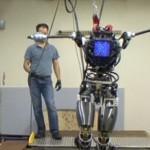 Denne roboten nekter å bli dyttet over ende