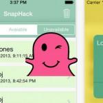 SnapHack App lar deg lagre Snapchat-bilder