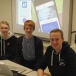 Norsk ungdomsbedrift utviklet mobilapp - nå satser de internasjonalt