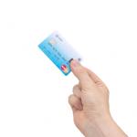 MasterCard med integrert fingeravtrykk sensor