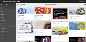 Adobe - Marketing Cloud - Dashboard