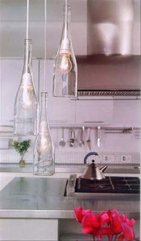 flaske-lampeskjerm
