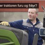 Tester biodrivstoff på traktorer